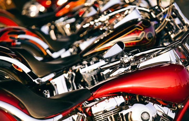 Motorcykel til langtur